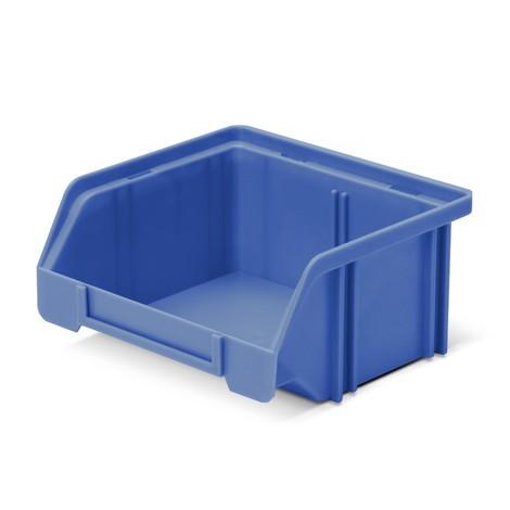 Förvaringslådor med öppen front av polystyren