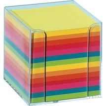 folia® Kunststoffzettelbox glasklar