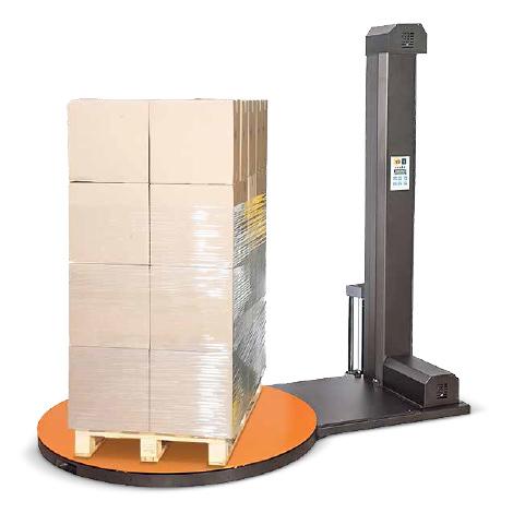 Folien-Stretchmaschine PS NOBEL, 1500 mm Drehteller, 2100 mm Wickelhöhe
