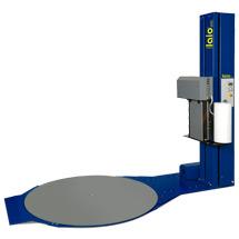Folien-Stretchmaschine SPRE18 inkl. Rampe, Wickelzeit ca. 60 Sek./Palette