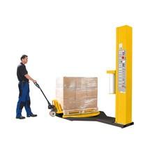 Foliewikkelaar Premium. Capaciteit max. 1500 kg. Verzonken draaitafel