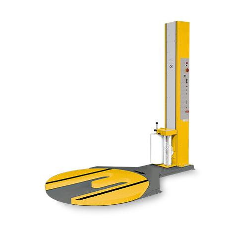 Foliewikkelaar premium capaciteit max 1500 kg verzon - Kantoor onder helling ...