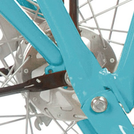 Freno a tamburo ruota anteriore per bicicletta aziendale e da trasporto Ameise®