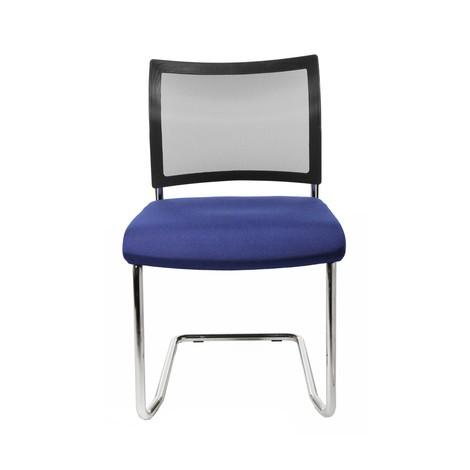 Fribärande stol Topstar® New Age med nät-ryggstöd