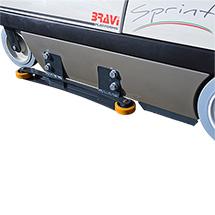 Führungsrollen Ø105mm für Multifunktionslift Drive