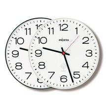 Funk-Wanduhr Peweta® mit Zahlen-Ziffernblatt, Ø 300 mm