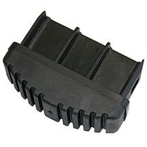 Fußstopfen KRAUSE ® elektrisch ableitfähig. Holmgröße 6,4x2,5cm