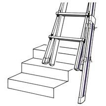 Fußverlängerung für Teleskopleiter HYMER 3-in-1