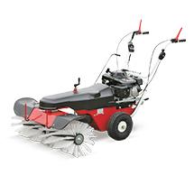 Ganzjahres-Kehrmaschine Profi Sweeper 100. Kehrbreite 1000 mm