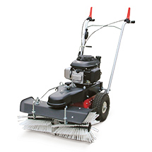Ganzjahres-Kehrmaschine Profi Sweeper 70. Kehrbreite 700 mm