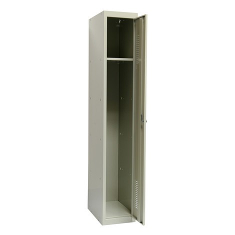 Garderobe- en universele locker BASIC. Met 1 of 2 compartimenten