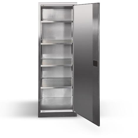 Garderoben-/Schließfachschrank. bis 3 Abteile,bis 4 Fächer, Br. 300 oder 400 mm