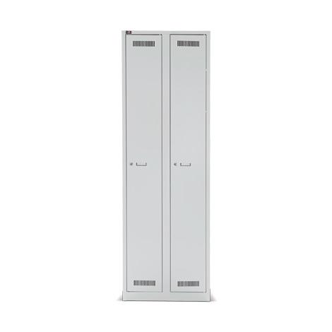 Garderobenschrank BISLEY Light mit bis zu 4 Abteile