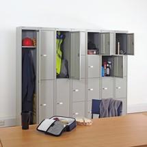 Garderobenschrank BISLEY mit Hutboden und Kleiderstange