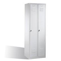 Garderobenschrank mit 2 Abteilen ohne Sockel