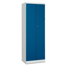 Garderobenschrank PAVOY mit aufschlagenden Türen. 1 Doppelabteil, abschließbar
