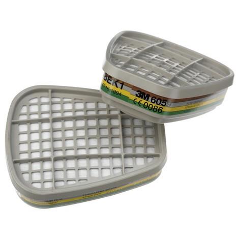 Gas- und Kombifilter für 3M™-Gase- und Dämpfe-Maske, ABEK1 gegen organische, anorganische und saure Gase, Ammoniak und Derivate