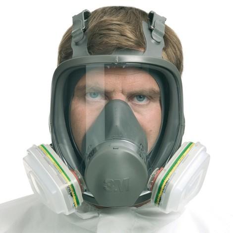 Gase- und Dämpfe-Maske 3M™ Vollmaske Serie 6000