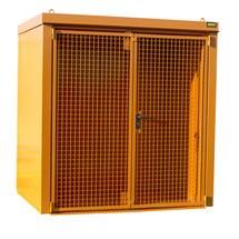 Gasflaschen-Container für max. 35 Flaschen, feuerbeständig