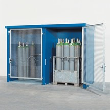 Gasflaschen-Lager F90, brandgeschützt