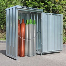 Gasflaschen-Lagercontainer TRGS 510 LIF