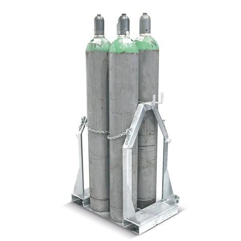 Gasflaschen-Palette
