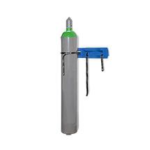 Gasflaschen-Wandhalter, Kunststoff, für 2 Gasflasche