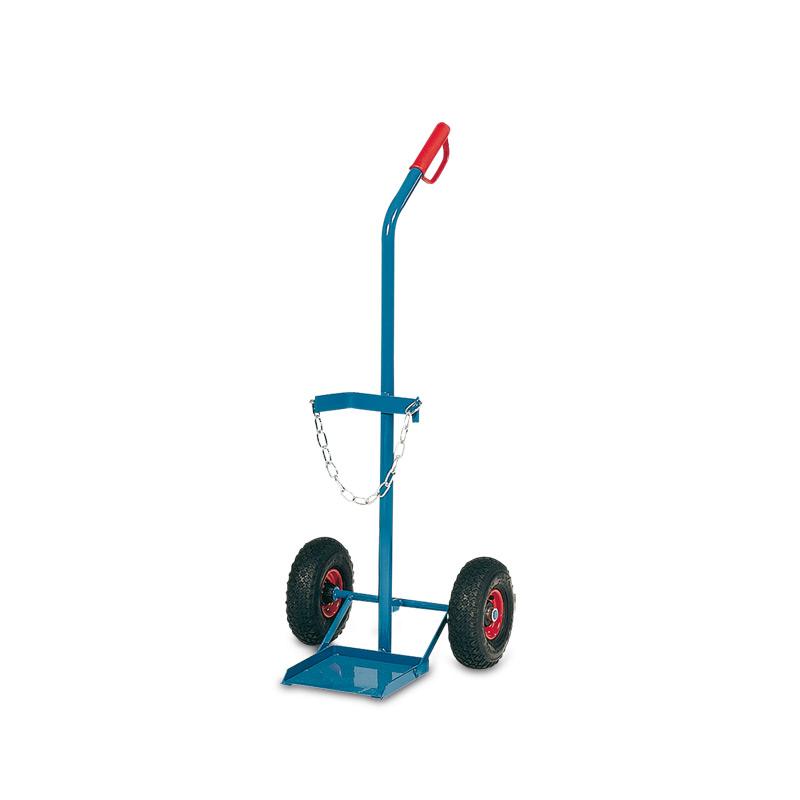 Gasflaschenkarre fetra® für 1 Stahlflasche á 20/40/50 Liter. Tragkraft 100kg