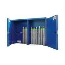 Gasflaschenlager F90 mit brandgeschützen Türen