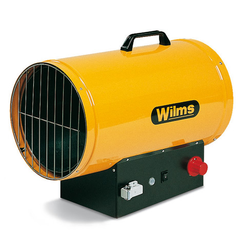 Gasheizer Wilms®. Heizleistung 14 - 35kw, Automatik