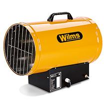 Gasheizer Wilms®. Heizleistung 14 - 35kw, Piezoelektrizität - Manuell