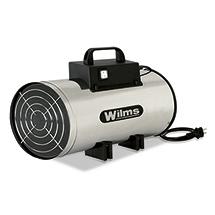 Gasheizer Wilms® Inox. Heizleistung 12kw, Piezoelektrizität - Manuell