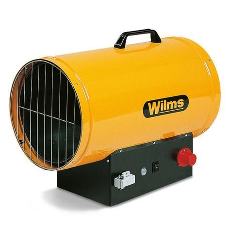 Gasheizer Wilms®, mit Automatik-Zündung