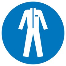 Gebodsbord – Beschermende kleding dragen