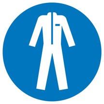 Gebodsbord beschermende kleding gebruiken