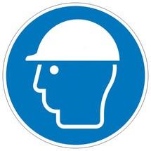 Gebodsbord – Veiligheidshelm dragen