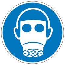 Gebotsschild – Atemschutz benutzen