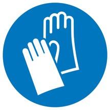 Gebotsschild – Handschutz benutzen