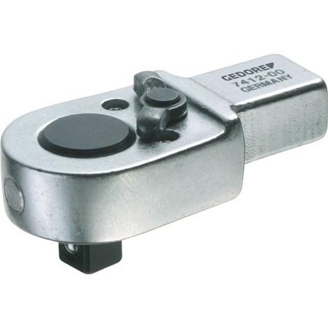 GEDORE Einsteckumschaltknarre, 9 x 12 mm