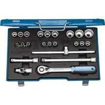 GEDORE Steckschlüsselsatz, Schlüsselweiten 8-32 mm