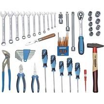 GEDORE Werkzeugsortiment TOURING 1000, 49-tlg.