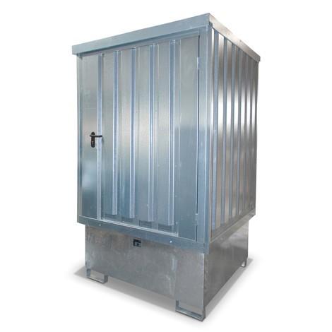 Gefahrstoff-Depot GD-E/IBC, verzinkt