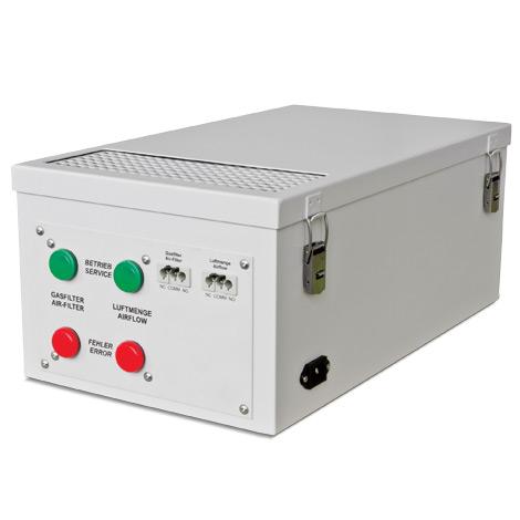 Gefahrstoff-Filteraufsatz, Sicherheitsschrank Typ 90 (1- und 2-türig)