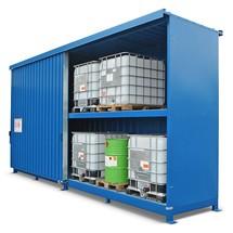 Gefahrstoff-Regalcontainer FS 14, stehende Lagerung
