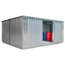Gefahrstoffcontainer, verzinkt