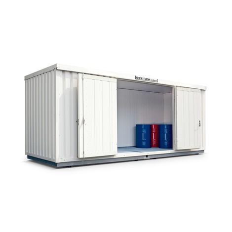 Gefahrstoffcontainer WGK 1-3, wärmeisoliert