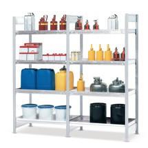 Gefahrstoffregal asecos®, für gewässergefährdende Flüssigkeiten