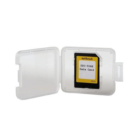 Gegevenskaart voor defibrillator Defibtech Lifeline View AED