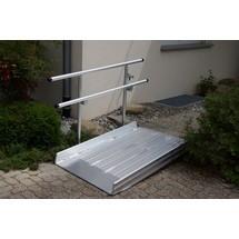 Geländer für Altec Überfahrbrücke mit Auflagerzunge