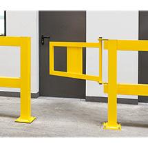 Geländer-Tür für Rammschutz-Geländer